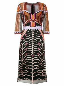 Temperley London Canopy fitted dress - Black