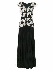 Talbot Runhof nonee dress - Black