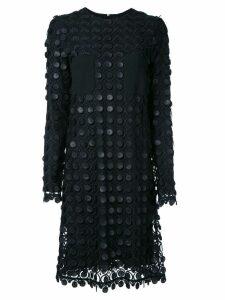 Carven layered lace dress - Black