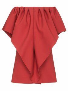 Valentino Very Valentino wool cady dress - Red