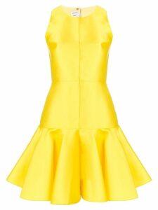 Maison Rabih Kayrouz peplum short dress - Yellow