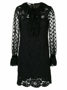 Philosophy Di Lorenzo Serafini ruffled lace dress - Black