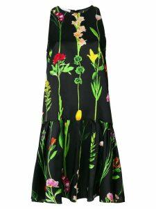 Moschino floral print dress - Black