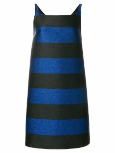 Gianluca Capannolo striped dress - Blue