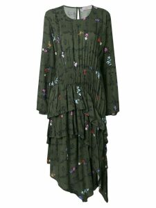 Preen Line Sinead floral vine dress - Green