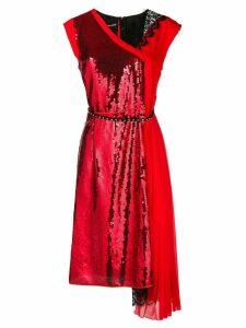 Marc Jacobs sequins embellished dress - Red
