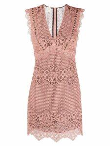 Pinko lace mini dress