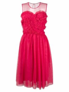 P.A.R.O.S.H. frilled detail dress - Pink