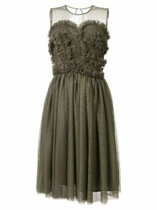 P.A.R.O.S.H. ruffled dress - Green
