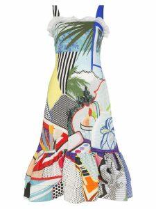 Mary Katrantzou Kara pop art sleeveless dress - Multicolour
