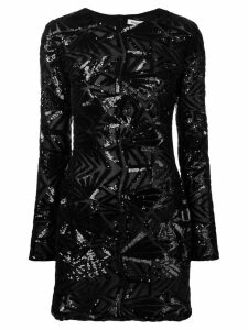 P.A.R.O.S.H. sequin pattern dress - Black
