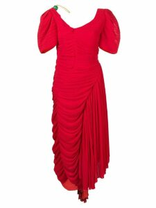Preen By Thornton Bregazzi Kesia dress - Red
