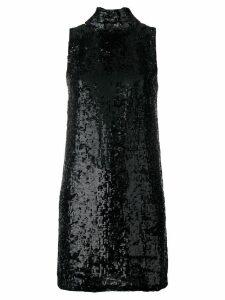 P.A.R.O.S.H. Ginter sequin dress - Black