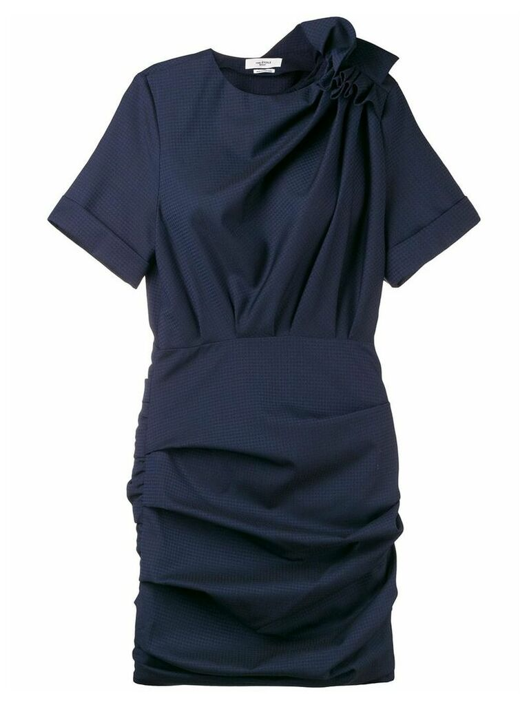 Isabel Marant Étoile fitted short dress - Blue