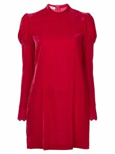Philosophy Di Lorenzo Serafini puff sleeve dress - Red