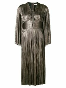 Maria Lucia Hohan pleated midi dress - Grey