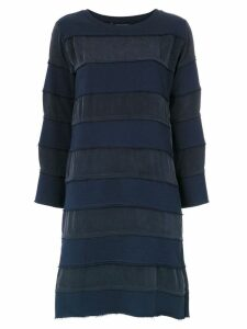 Uma Raquel Davidowicz Mezzo panelled dress - Blue