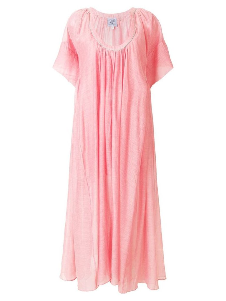 Thierry Colson Shanta long dress - Pink