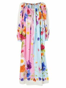 Natasha Zinko oversized floral dress - Multicolour