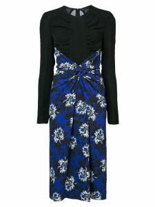 Proenza Schouler Re Edition Knotted Dress - Blue