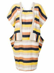 Henrik Vibskov striped sheet dress - Multicolour