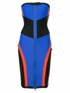 Puma Fenty By Rihanna colour block midi dress - Black