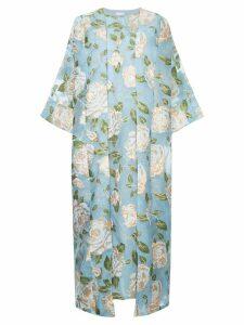 Bambah Isabella kaftan dress - Blue