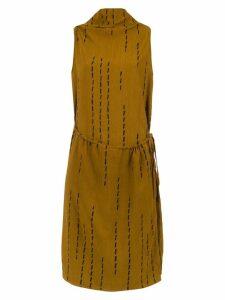 Uma Raquel Davidowicz Modern micro-pleated dress - Orange