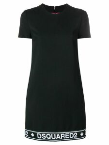 Dsquared2 front logo summer dress - Black