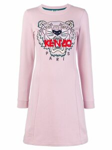 Kenzo Tiger embroidered dress - Pink