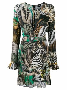 Just Cavalli multi print dress - Multicolour