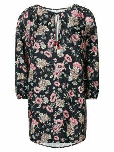 Morye Vilshenko short floral print dress - Black