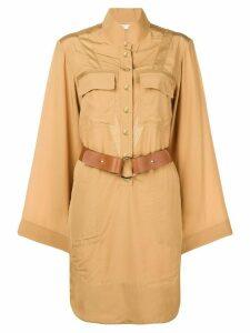 Chloé safari shirt dress - Brown