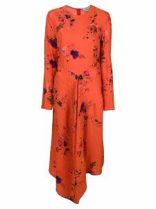 Preen By Thornton Bregazzi floral dress - Red