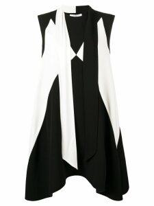 Givenchy scarf collar dress - Black