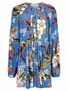 Dvf Diane Von Furstenberg floral dress - Blue