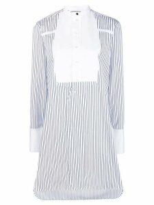 Victoria Victoria Beckham striped shirt dress - White