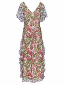 All Things Mochi leandra floral maxi dress - Pink