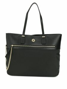 Tommy Hilfiger chain detail tote bag - Black