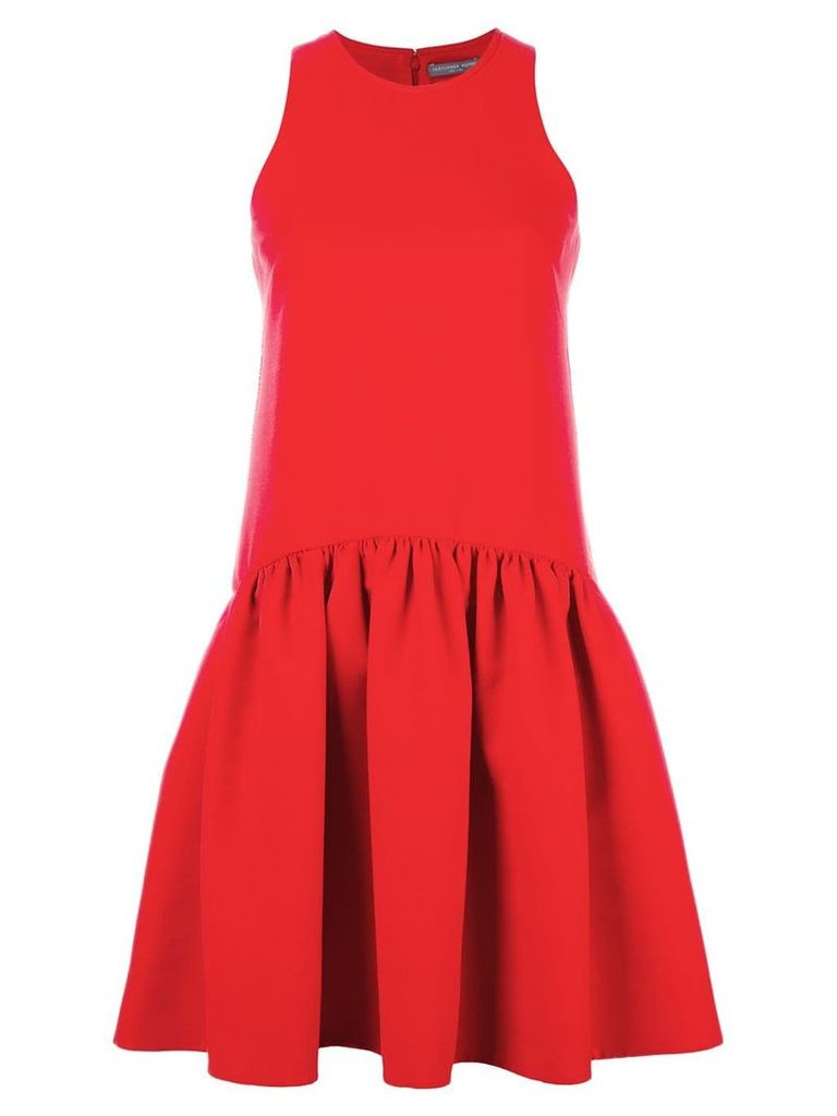 Alexander McQueen pleated dress - Red