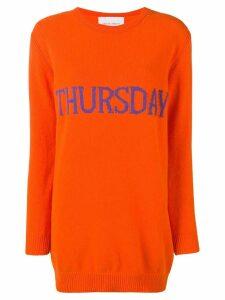 Alberta Ferretti Thursday sweater dress - Orange