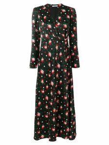 Vivetta floral print dress - Black