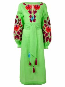 Yuliya Magdych 'Eden Tree' dress - Green