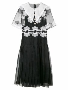 Dolce & Gabbana lace detail dress - Black