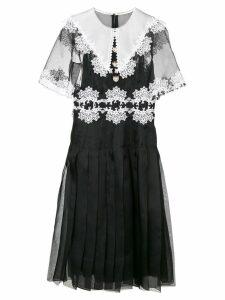Dolce & Gabbana lace detail dress - Black