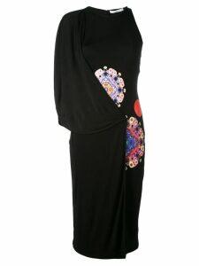 Givenchy printed asymmetric dress - Black