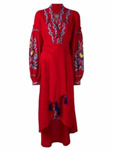 Yuliya Magdych 'Eden Tree' dress - Red