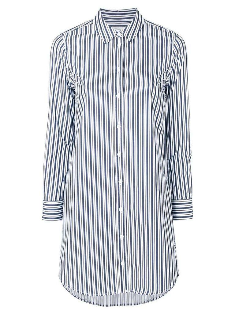 Equipment striped shirt dress - Blue