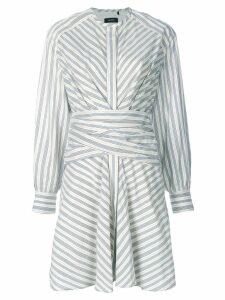 Isabel Marant striped Victoria dress - White