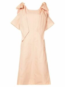 Chloé ribbon sleeve shift dress - Pink